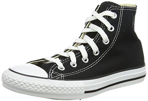 Converse Unisex-Kinder Chuck Taylor All Star Classic Colors für Kleinkinder und Jugendliche Hohe Sneakers, Schwarz (Black 001), 13,5/31,5