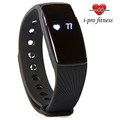 i-Pro ID107 Waterproof Fitness Tracker With Heart Rate Monitor, Sleep Tracker App And Calorie Counter App – Easy To Use Pairing With VeryFit 2.0 App – PLUS Bonus E-Book To Accelerate Your Results from i - pro fitness