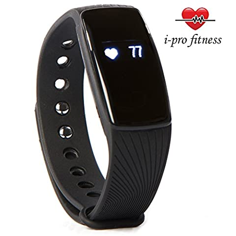 i-Pro ID107 Waterproof Fitness Tracker With Heart Rate Monitor, Sleep Tracker App And Calorie Counter App – Easy To Use Pairing With VeryFit 2.0 App – PLUS Bonus E-Book To Accelerate Your