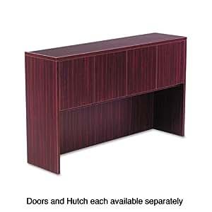 VALENCIA SERIES HUTCH DOORS, LAMINATE, 14W X 3/4D X 15H, MAHOGANY, 4/SET