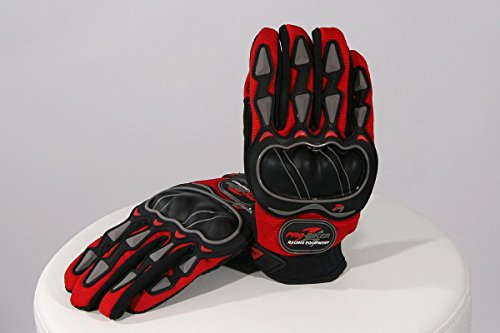 guantes-de-moto-rojo-l-tejido-de-plastico-lycra