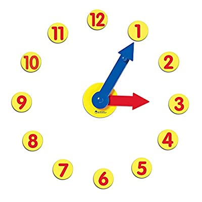 Learning Resources Magnetic Geared Clock Set by Learning Resources