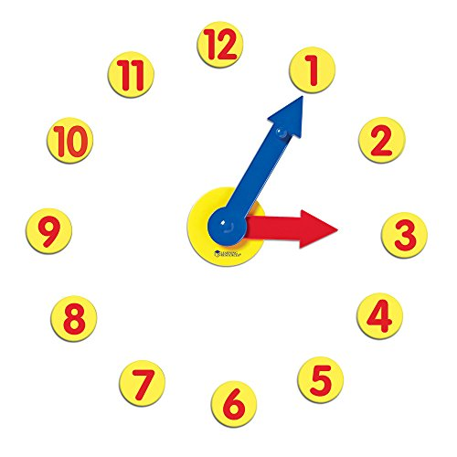 Learning Resources Magnetic Geared Clock Set