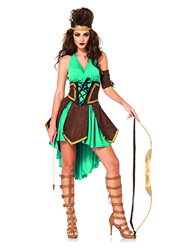 Leg Avenue 85203 - Celtic Warrior Kostüm Set, 3-teilig, Größe M/L, (Kostüme Celtic Halloween)