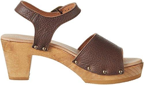 Sanita - Sinja Square Sandal, Sandali Donna Braun (Antique Brown)