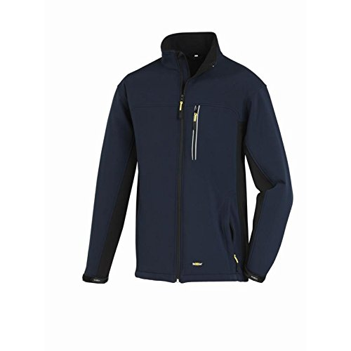 texxor-4142-softshell-jacket-skagen-trabajo-microfibra-transpirable-l-azul