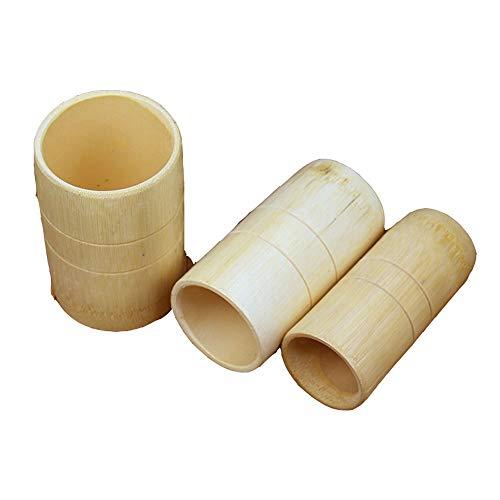 Bambus, Bein, Brust (Wangwen Chinesische Traditionelle Bambus Anti Cellulite Massage Vakuum Schröpfen Saugnäpfe Kit Für Rückengelenk Lenden Bein Arm Schmerzen)