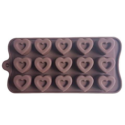 LYNCH 3D Silicone Mold Design Coeur sugarpaste Jello Mould DIY Bakeware