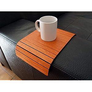 Holz sofa armlehnentisch in vielen farben wie kirsche Armlehnentablett Moderner tisch für couch Klein schleichendes…