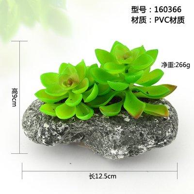 WANG-shunlida Unechte Blumen Fleischige Plant Simulation kleine Kübelpflanzen Bonsai Pflanzen Blumen Dekoration Dekorationen, Champagner Farbe