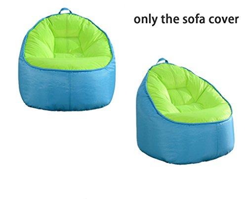 Quwei Designer-Sitzsack-Bezug, für Gaming, Sitzsack, mit Reißverschluss, Innen, Außen, für Sitzsack mit Bohnenfüllung, Basteln, Sofa, für Kinder