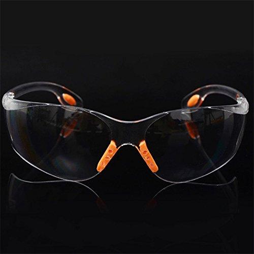 Preisvergleich Produktbild Lovelysunshiny Bequeme Weiche Silikon-Nasen-Klipp-Außensicherheits-Augen-Schutzbrillen