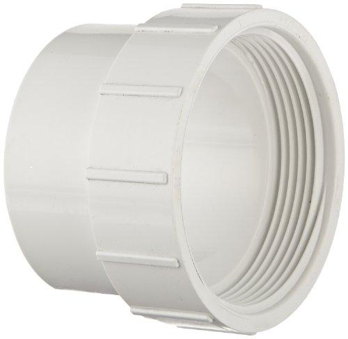 Spears PVC-DWV Rohrverschraubungen, Reinigung Adapter, Spigot X NPT Buchse, 3