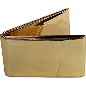 Rettungsdecken Nobamed 10 Stück gold/silber Größe 1,6 m x 2,1 m