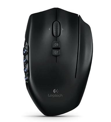 Logitech G600 - Ratón Gaming óptico, negro