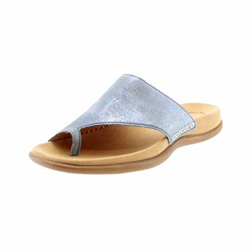 Gabor 63700-76, Zoccoli donna Blau (Aquamarin)