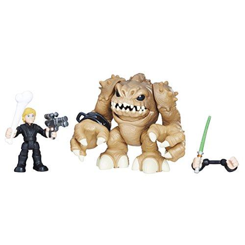 STAR WARS E0140EL2 Figura de acción de Héroes Galácticos Luke Skywalker y Rancor