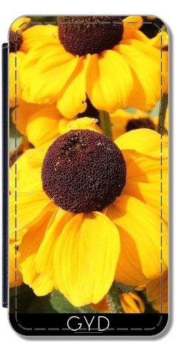 Coque pour Iphone SE - Fleurs Jaune Vif by Christine aka stine1 Simili-Cuir