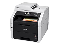 Brother Printer MFC9330CDW Wireless All-In-One Color Printer with Scanner, Copier and Fax