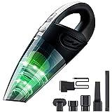 Handstaubsauger, Cofuture Akku Staubsauger 2200mAh 120W kabelloser Autostaubsauger 12V Handheld Vacuum Nass&Trocken
