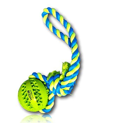 WEPO Hundespielzeug | Wurf- & Schleuderball mit Noppen… | 04260486952644