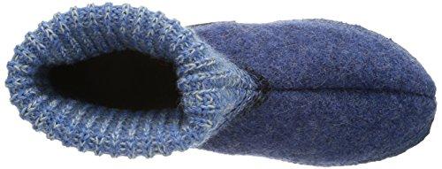 Giesswein Baumkirchen 42/10/45035-019 Unisex-Erwachsene Hausschuhe Blau (capriblau / 547)