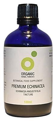 Organic Herbal Remedies 100 ml Angustifolia Premium Echinacea from Organic Herbal Remedies