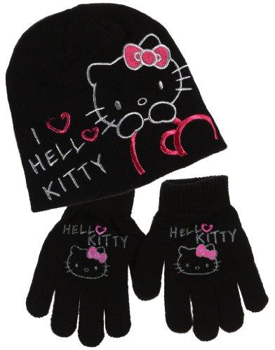 Bonnet et gants enfant fille I love Hello kitty 4 coloris de 3 à 9ans ( 2cc5f713890