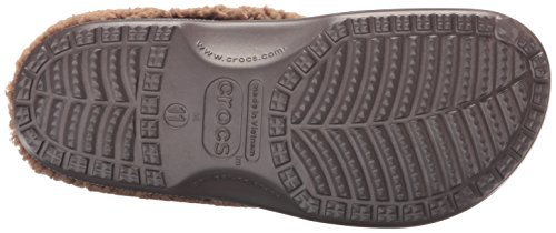 Crocs Mammoth Lined Graphic Clog, Sabots Mixte Adulte Marron (Espresso/Khaki)
