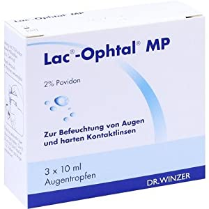 Lac Ophtal Mp Augentropfen 3X10 ml