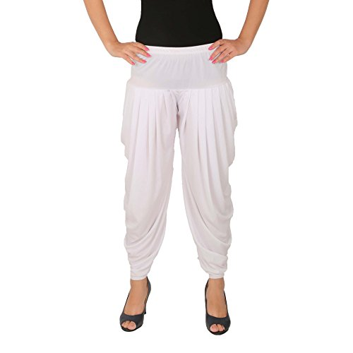 Several Side Pleats Style Dhoti Pant of Women - Culture the Dignity...