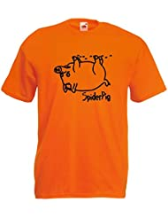 world-of-shirt Herren T-Shirt Spider Pig Homer Simpsons
