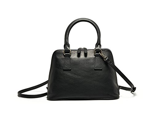 bvane-r-womens-full-grain-leather-vintage-handbag-shoulder-bag-medium-zipper-tote-purse-150228-noir