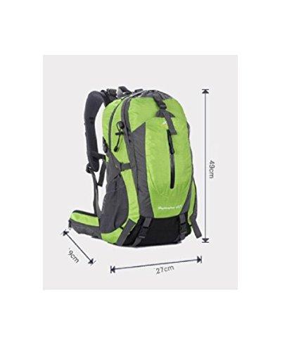 GAOJIAN Outdoor Bergsteigen Tasche Männliche Schultertasche Weibliche Wanderrucksäcke Sport Rucksäcke Hoch 49cm Breite 27cm Wasserdichte Daypack a