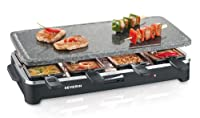 Severin RG 2343 Raclette - Partygrill mit Naturgri