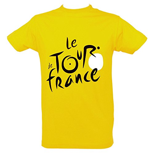 Le Tour de France - T-Shirt 'Maillot Jaune' Tour de France Officiel - Couleur : Jaune