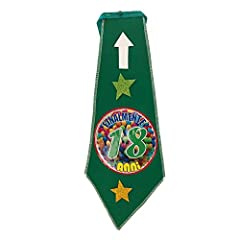 Idea Regalo - Mr. Gadgets Festa 18 anni- Maggiorenne cravatta festa di compleanno 18 anni - finalmente18 anni vcm40 feltro