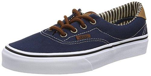 Vans Authentic, Sneakers Basses Mixte Adulte Bleu (C&L/Dress Blues/Stripe Denim)