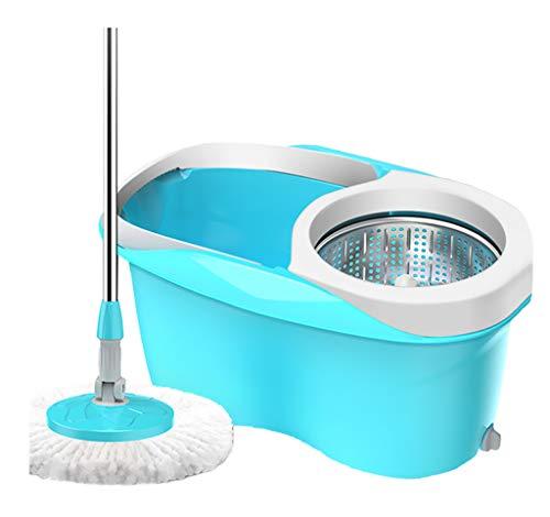 STcG-L Sauberer Mopp-Eimer, 47 * 29 * 23CM - Multifunktionsbad-Mopp-Eimer Robuster dauerhafter Blauer Kunststoff-Entwässerungseimer (größe : 47 * 29 * 23CM)