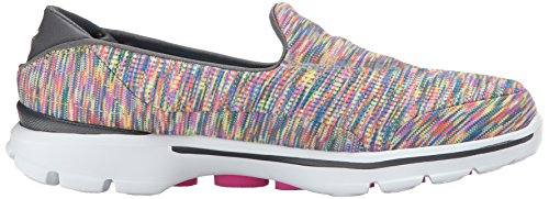 Skechers Gowalk 3 Crazed, Sneakers basses femme Multicolore - MULT