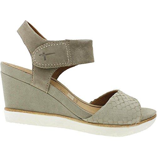 Tamaris Damenschuhe 1-1-28302-26 Damen Sandaletten Slingback Sandale Braun (PEPPER), EU 42