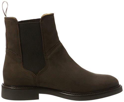 GANT Damen Ashley Chelsea Boots Braun (Dark Brown)