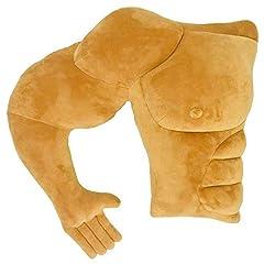 Idea Regalo - VACHICHI Boyfriend Muscle Man Braccio Corpo Cuscino Fidanzato Marito Cuddle Buddy Cuscini Scherzo Giocattolo Gag Regali per la festa della mamma Fidanzata Compleanno San Valentino (lato destro)