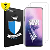 Alinsea Screen Protector Compatible for OnePlus 7 Pro