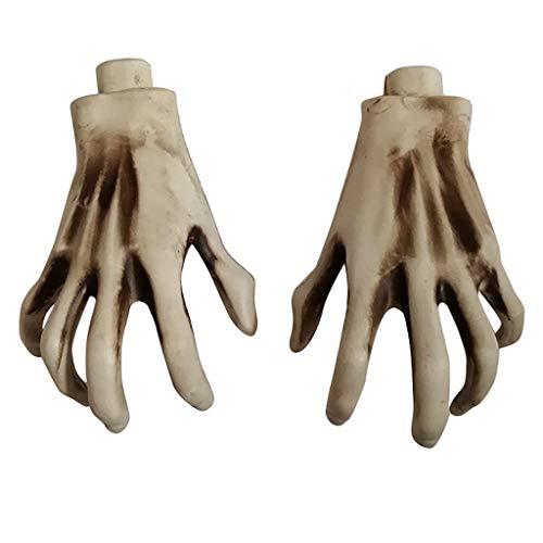 Holloween Geister Kostüm - Myspace 2019 Neueste Dekoration für Halloween-Party-Hauptdekoration das Geist-Handknochen-schreckliche Szenen-Spielzeug