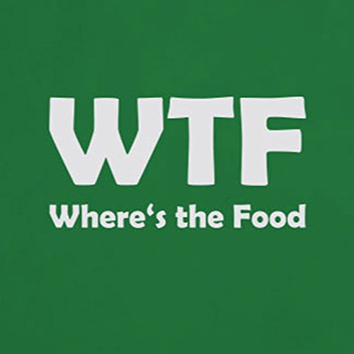 Where's the Food - Stofftasche / Beutel Pink