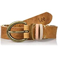 Lee Coloured Loop Belt Brown Sugar, Cintura Donna