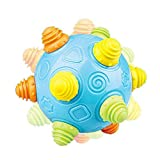 leegoal Baby Music Shake Dancing Ball Toy for Boys and Girls, Self-Bouncing Music Astro Ball, Taste Cartoon Enlightenment Explore Puzzle Bouncing Sensory Developmental Ball Jumping Activation Ball