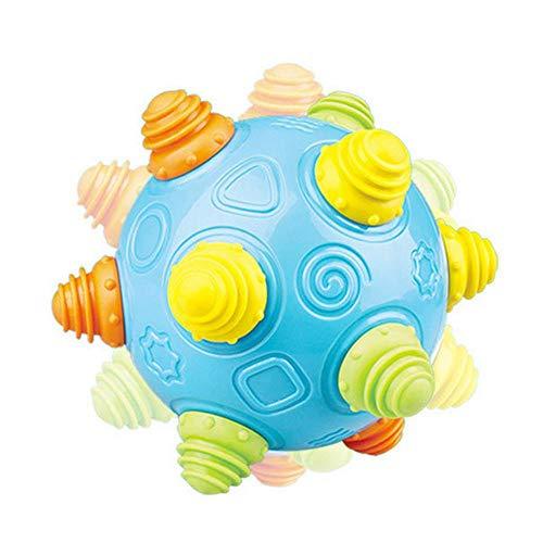 Baby Music Shake Dancing Ball Spielzeug für Jungen und Mädchen,Leegoal Selbst-Springende Musik Astro Ball,Schmecken Cartoon Aufklärung Erforschen Sie Das Puzzle Bouncing Sensory Developmental Ball