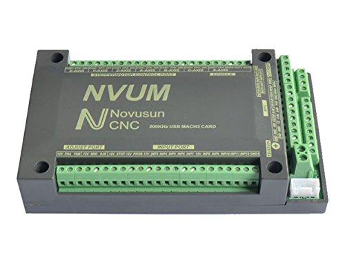 SUNWIN 6-Achsen-CNC-NVEM 200 KHz Ethernet MACH3 Cad Spindelmotortreiber Motion Control
